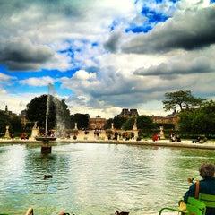 Photo taken at Jardin des Tuileries by Denis L. on 9/10/2013