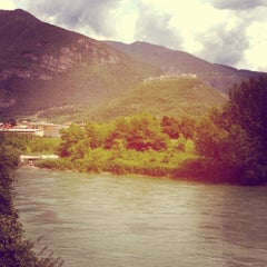 Photo taken at Castel Beseno by Bindi K. on 7/12/2014