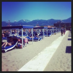 Photo taken at Forte Dei Marmi by Andrea R. on 6/16/2013