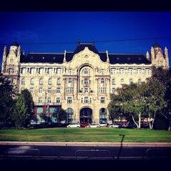 Photo taken at Four Seasons Hotel Gresham Palace Budapest by Gurdal T. on 10/20/2012