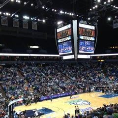 Photo taken at Target Center by Austin W. on 9/29/2012