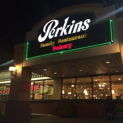 Photo taken at Perkins Restaurant & Bakery by Austin W. on 8/3/2015
