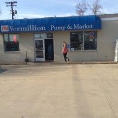 Photo taken at Vermillion Pump & Market by Austin W. on 4/17/2015