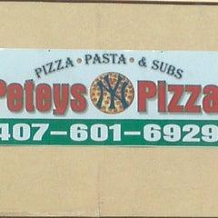 Photo taken at Petey's NY Pizza by Jeffrey ♊ T. on 8/13/2013