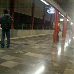 Photo taken at Tren Suburbano Tlalnepantla by Samuel G. on 1/4/2013