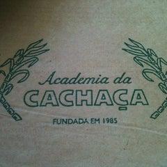 Photo taken at Academia da Cachaça by Alexandre C. on 11/23/2012