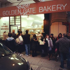 Photo taken at Golden Gate Bakery by Tom C. on 2/19/2013