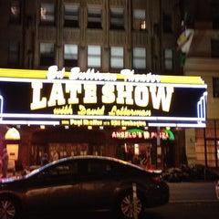 Photo taken at Ed Sullivan Theater by Jeffery O. on 7/1/2013