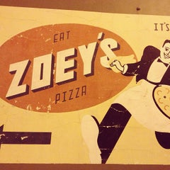 Photo taken at Zoey's Pizza by John M. on 12/31/2012