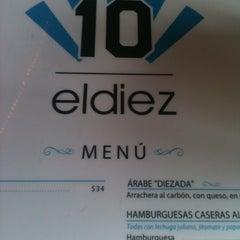 Photo taken at El Diez by Jezabel O. on 12/21/2012
