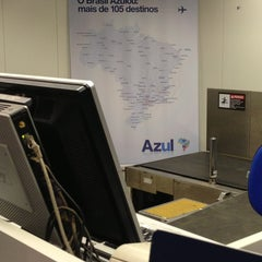 Photo taken at Check-in Azul by Lucas S. on 7/19/2013