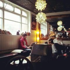 Photo taken at Brick Lane Coffee by Jeanie L. on 9/16/2012