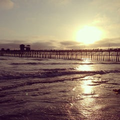 Photo taken at Oceanside Pier by Taylor L. on 5/11/2013