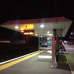 Photo taken at Onehunga Train Station by Darren D. on 8/23/2013