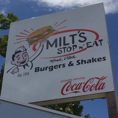 Photo taken at Milt's Stop & Eat by Mr. J on 5/30/2015