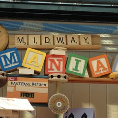 Photo taken at Toy Story Midway Mania by thayane r. on 1/23/2013