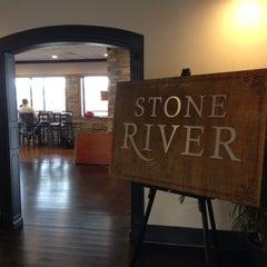 Photo taken at Stone River by Mandi C. on 2/21/2014