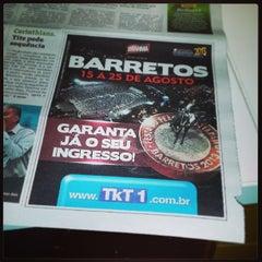 Photo taken at Condomínio São Luiz by Magno J. on 7/23/2013