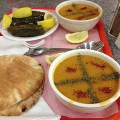 Photo taken at Bereket Turkish Kebab House by James P. on 4/20/2013