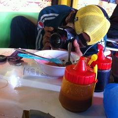 Photo taken at Cafe Moro by Tata Adji L. on 12/19/2013