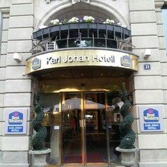 Photo taken at Best Western Karl Johan Hotell by อรรถพล ส. on 6/27/2014