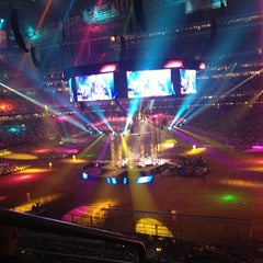 Photo taken at RODEOHOUSTON by Edgardo F. on 3/5/2013