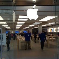 Photo taken at Apple Store, City Creek Center by Eddie on 2/27/2013