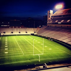 Photo taken at Sanford Stadium by Blane M. on 8/10/2013