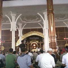 Photo taken at Masjid Agung Al-Falah by 'Tatang S. on 8/23/2013