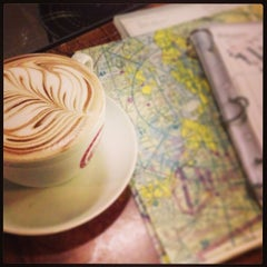 Photo taken at Espresso Vivace by Jonathan I. on 2/19/2013