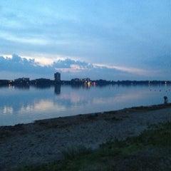 Photo taken at Lake Calhoun by Lianna シ on 7/15/2013