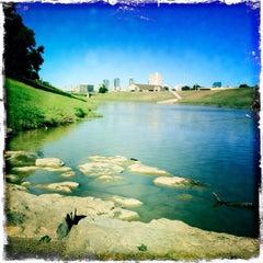 Photo taken at Trinity River Park by Tiffani D. on 9/21/2013