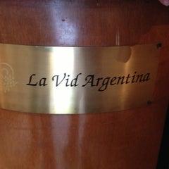 Photo taken at La Vid Argentina by Edgar M. on 5/3/2013