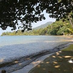 Photo taken at หาดใบลาน (Bailan Beach) by Artem K. on 1/5/2014