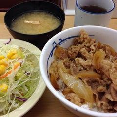Photo taken at 松屋 高田馬場店 by Osamu K. on 3/14/2014