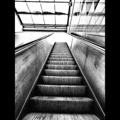 Photo taken at Levent Metro İstasyonu by Can C. on 8/27/2013