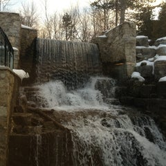 Photo taken at Ancaster Old Mill by Chris L. on 3/1/2013