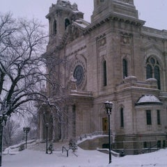 Photo taken at Basilica of Saint Mary by Paul on 2/10/2013