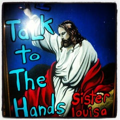 Photo taken at Sister Louisa's Church of the Living Room and Ping Pong Emporium by Santiago C. on 7/7/2013