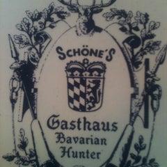 Photo taken at Gasthaus Bavarian Hunter by Benjamin B. on 12/18/2012