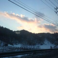 Photo taken at 알펜시아 리조트 스키장 / Alpensia Resort Ski Area by Melissa L. on 1/5/2013