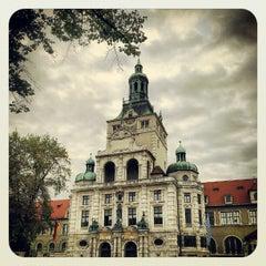 Photo taken at Bayerisches Nationalmuseum by Lutz S. on 10/4/2012