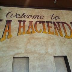 Photo taken at La Hacienda by Donovan S. on 2/21/2013