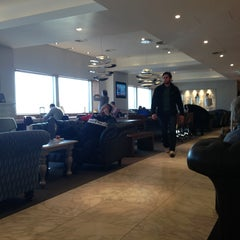 Photo taken at No.1 Traveller Lounge by Nour B. on 1/11/2013