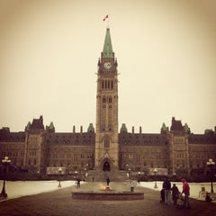 Photo taken at Parliament Hill by Adam G. on 12/12/2012