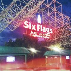 Photo taken at Six Flags Magic Mountain by Mandii E. on 7/21/2013