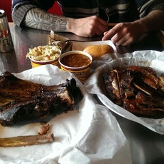 Photo taken at Brothers BBQ by Mark S. on 2/27/2014