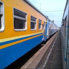 Photo taken at Stasiun Wlingi by Hendry S. on 10/12/2014