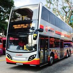 Photo taken at SMRT Buses: Bus 190 by 9VSKA on 8/20/2014