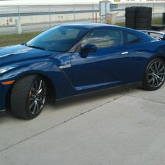 Photo taken at WDW Speedway - Richard Petty / Exotic Driving Experience by Joshua R. on 1/22/2013
